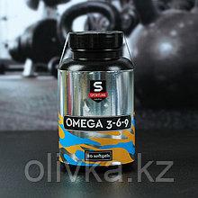 Витамины Sportline Nutrition Omega 3-6-9, 80 гелевых капсул
