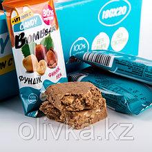 Протеиновая конфета BOMBBAR, фундук/лён/финик, 18 г