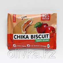 Печенье неглазированное с начинкой, CHIKALAB, Яблочный штрудель, 50 г