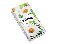 Подарок - носовые платочки Kleenex бумажные (1шт)