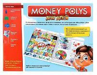 """Настольная экономическая игра Монополия """"Money Polys для детей"""""""