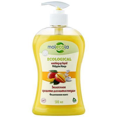 """Средство для мытья посуды """"Филиппинское манго"""", экологичное, 500мл.,  Молекола"""