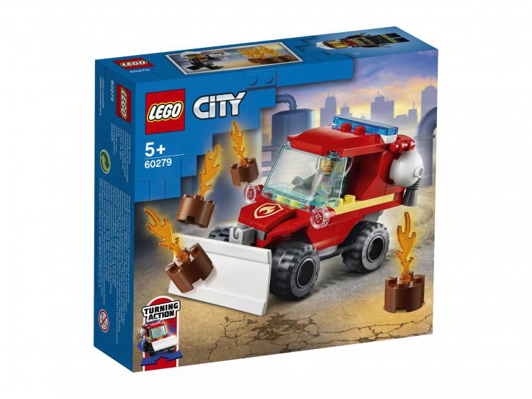LEGO City 60279 Пожарная машина, конструктор ЛЕГО - фото 2