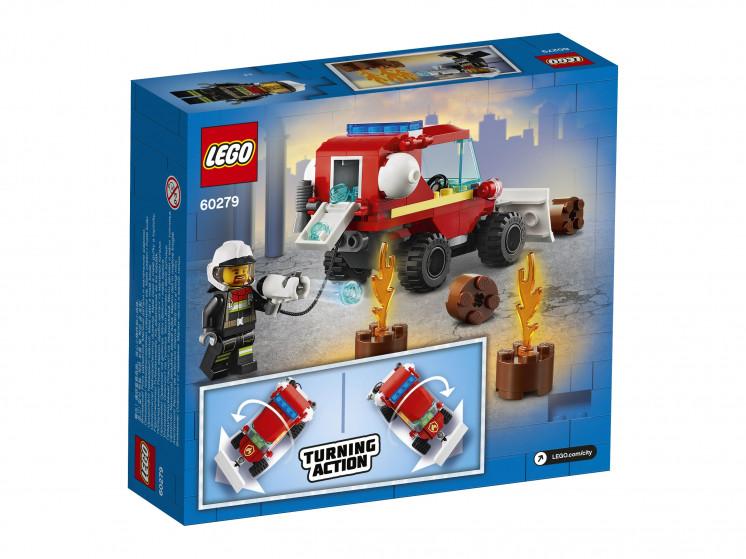 LEGO City 60279 Пожарная машина, конструктор ЛЕГО - фото 4