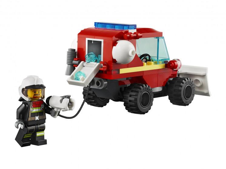 LEGO City 60279 Пожарная машина, конструктор ЛЕГО - фото 6