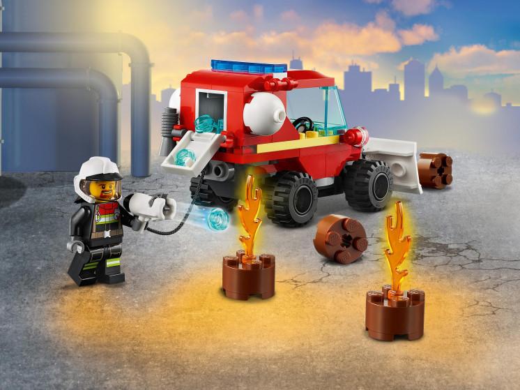 LEGO City 60279 Пожарная машина, конструктор ЛЕГО - фото 10