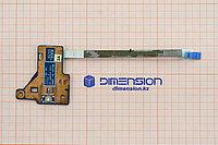 Плата, кнопка включения с LED индикаторами JE50 PWR BD 10762-2 48.4M603.021 с шлейфом 50.4M607.002 ACER Aspire
