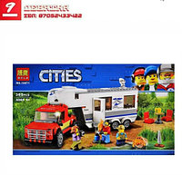 Характеристики и описание Конструктор Bela CITIES 10871 Дом на колесах (Аналог LEGO City 60182) 360 дет Бери