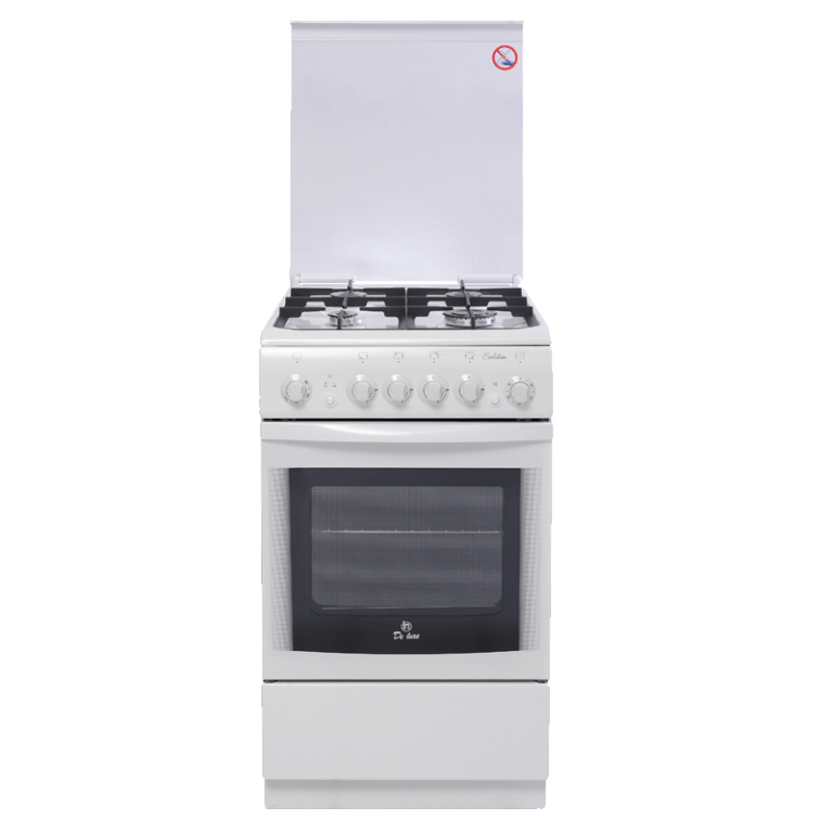 Кухонная газовая плита Deluxe 506040.03г (с крышкой)