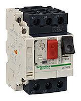 Силовой автомат для защиты двигателя Schneider Electric TeSys GV2 0.63А 3P, термомагнитный расцепитель, GV2ME0