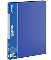 """Папка с файлами Berlingo """"Standard"""" на 30 вкладышей, синяя"""