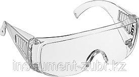 Очки DEXX защитные, поликарбонатная монолинза с боковой вентиляцией, прозрачные