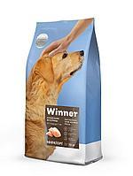 Сухой корм для собак Winner для взрослых собак крупных пород из курицы 10 кг