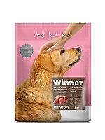 Сухой корм для собак Winner для взрослых собак крупных пород из говядины 3 кг