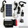 Фонарь с подзарядкой от солнечной батареи, сети 220В   Портативные, переносные солнечные фонари, фото 2