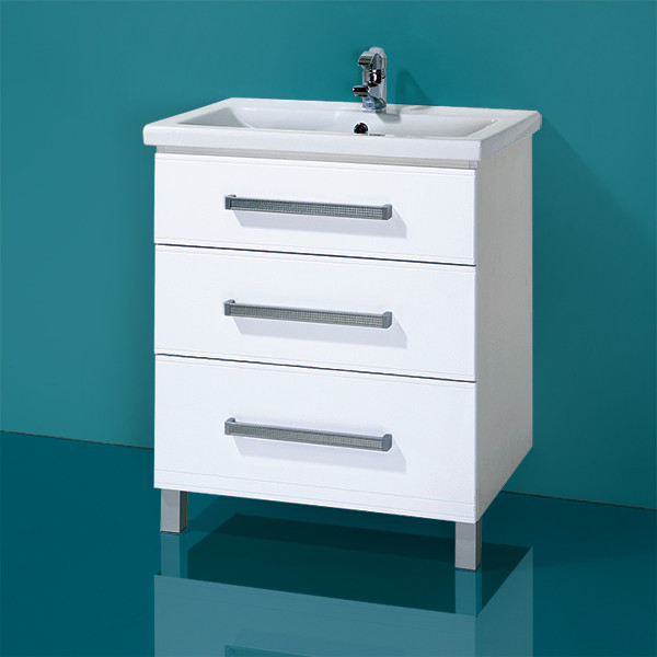 Комплект Тумба с умывальником для ванной «Акваль Анна» 70 см. (Умывальник в комплекте: «Сомо 70»)
