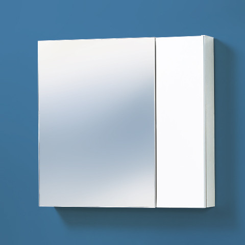 Зеркальная полка «Акваль Афина» 70 см.