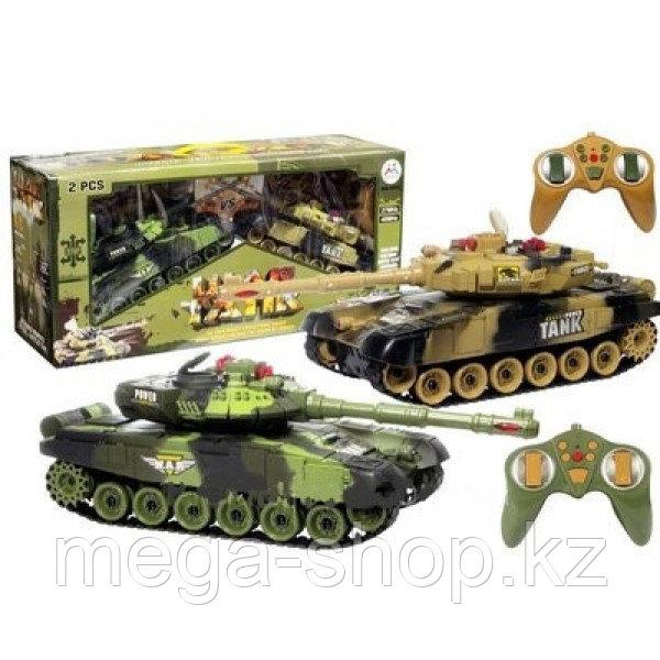 Танковый бой из двух танков 9993 2PC, war tank