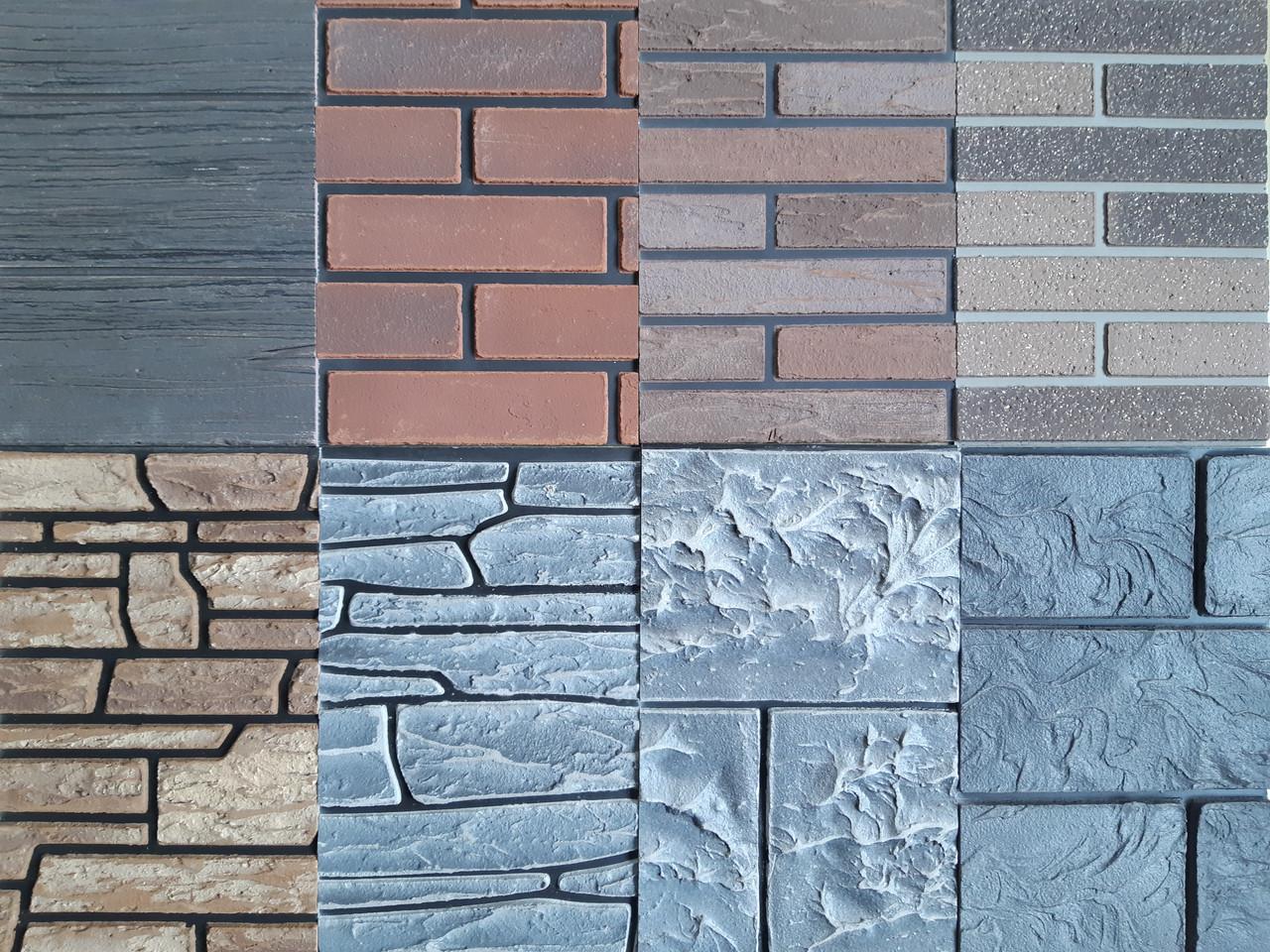 Фактурные фасадные панели для отделки зданий