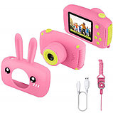 Детский цифровой фотоаппарат Smart Kids Series 3 Rabbit 20 Мп зайчик, фото 3
