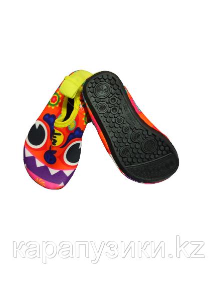 Аквашузы детские обувь для пляжа монстрики