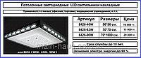 Потолочный накладной светодиодный LED светильник (40, 63 и 90 Ватт)
