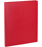 Папка с файлами OfficeSpace на 40 вкладышей, красная