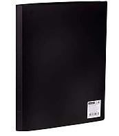 Папка с файлами OfficeSpace на 20 вкладышей, черная