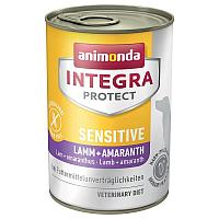 Animonda Integra Protect Sensitive с ягненком/кониной и амарантом-400гр