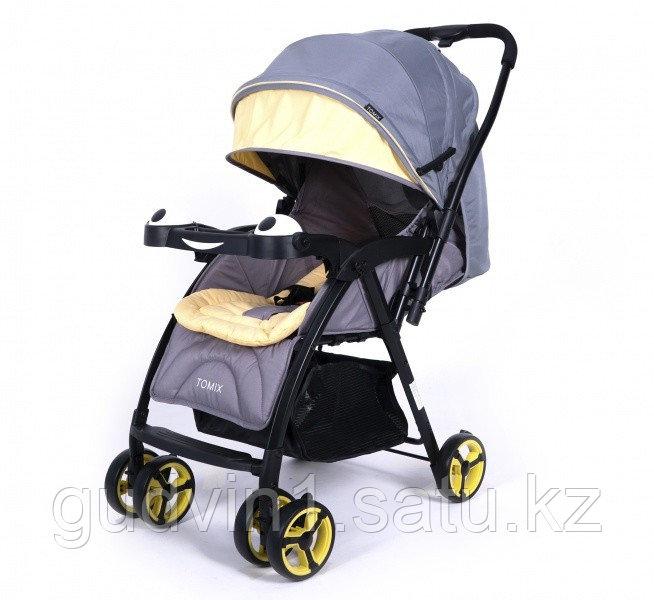 Прогулочная коляска Tomix Cosy, серая 01-26161