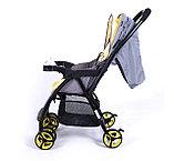 Прогулочная коляска Tomix Cosy, серая 01-26161, фото 5