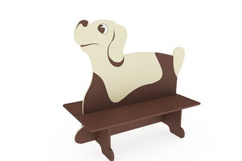 Скамейка детская Пёс