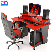 Стол DreamDesk ARENA-RED/BLACK