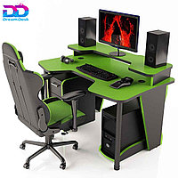 Стол DreamDesk ARENA-GREEN/BLACK