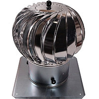 Дефлектор шаровидный из нержавеющей стали диаметром 150мм