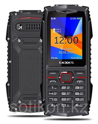 Мобильный телефон Texet TM-519R черный-красный, фото 2