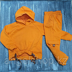 Спортивный костюм (оранжевый)