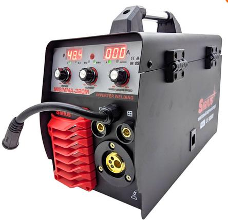 Полуавтомат сварочный SIRIUS MIG/MMA-320М, фото 2