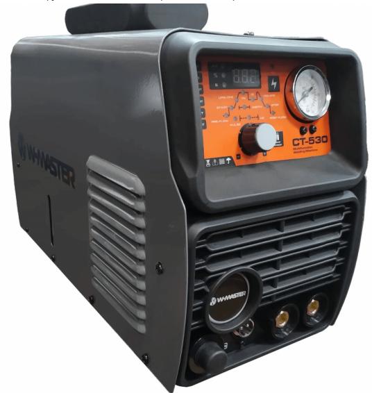 Сварочный инвертор WMASTER CT-530 (CUT+TIG+MMA)