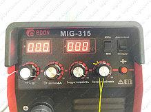 Сварочный инверторный полуавтомат Edon MIG-315 NEW электронное табло, фото 2
