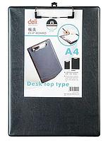 Папка-планшет DELI, А4, черная