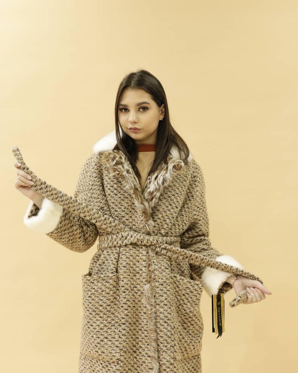 Женское пальто (норка, Италия)