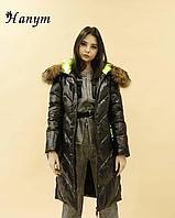 Женский пуховик-куртка (биопух), фото 1