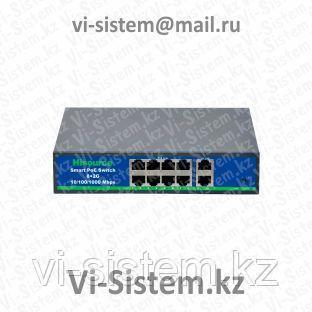 Poe switch Коммутатор Tanskin POE-9028P +2 Port