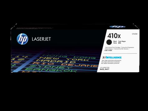 HP CF410X 410X Black LaserJet Toner Cartridge for Color LaserJet Pro M452/M477, up to 6500 pages