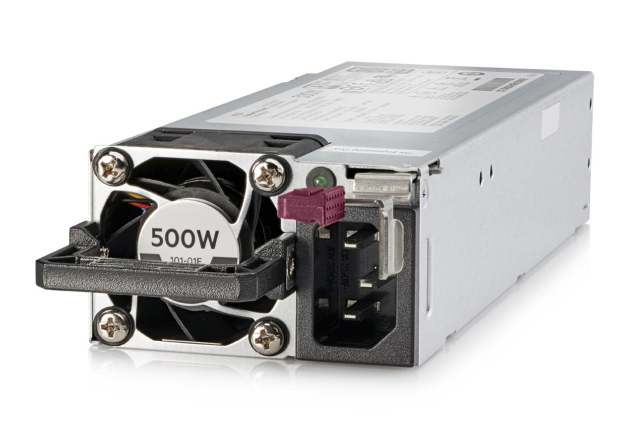 Источник питания HP Enterprise 500W Flex Slot Platinum Hot Plug (865408-B21)