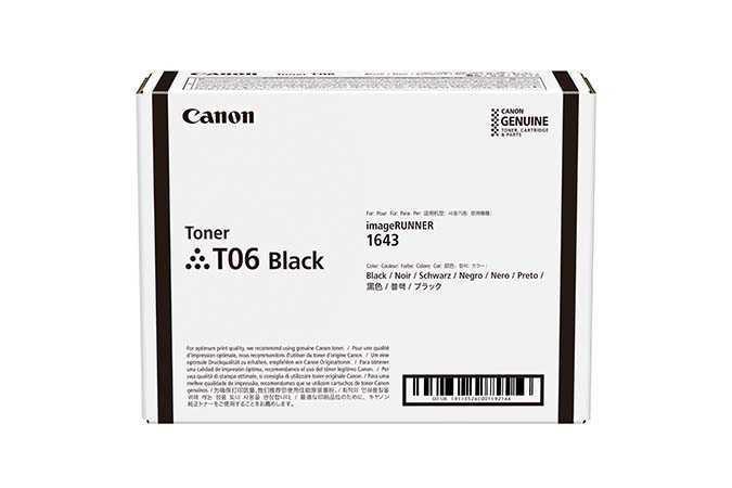 Тонер-картридж Canon T06 Black (3526C002)