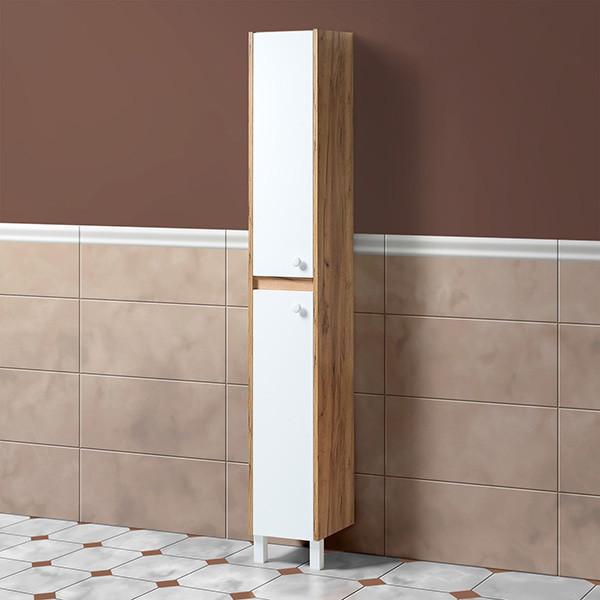 Шкаф для ванной «Акваль Ирис» 30 см.