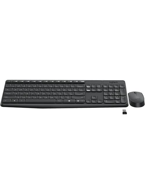 Беспроводной комплект мышь + клавиатура Logitech MK235 (920-007948)