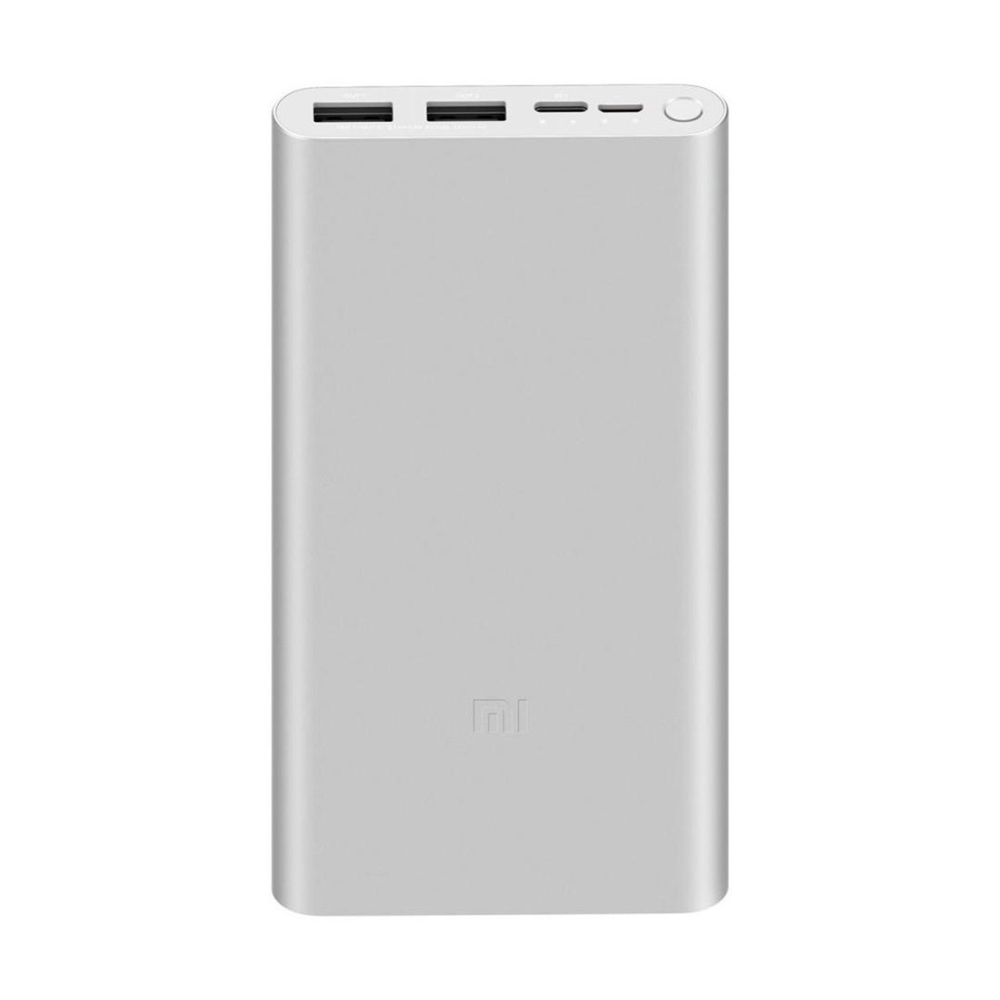 Портативное зарядное устройство Xiaomi Mi Power Bank 10000mAh 3 (2019 Type-C) (PLM13ZM) Серебристый